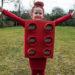 DIY LEGO blokje kostuum voor carnaval